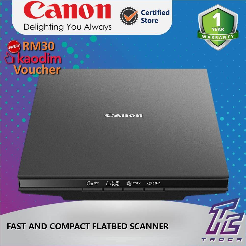 Canon LIDE 300 Fast and Compact Flatbed Document and Photo Scanner (Black)