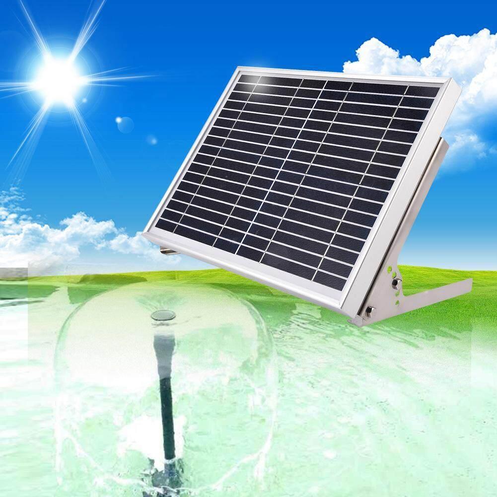 10W Power Storage Remote Control Pond Solar Submersible Water Pump fountain