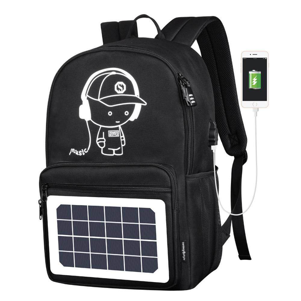 Leegoal Cool Multi-Function Outdoor Backpack With Usb Port And Detachable Solar Panel, Anti-Theft Computer Bag By Leegoal.