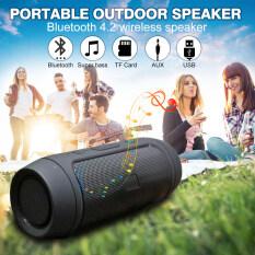 {JIUYOU} Loa Bluetooth Di Động Chính Hãng Loa Âm Trầm Không Dây Chống Nước Ngoài Trời Hỗ Trợ Loa Siêu Trầm AUX TF USB Loa Âm Thanh Nổi Bluetooth 4.2