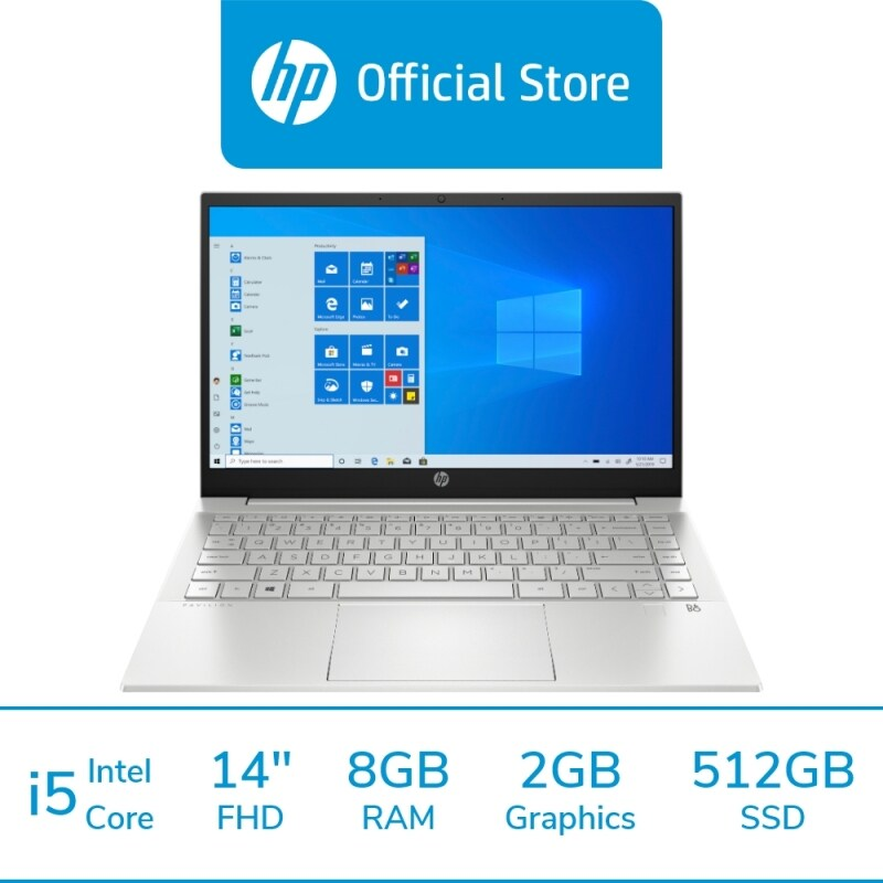 HP Laptop Pavilion 14-dv0070TX [FREE Pre-installed MS Office Home, Delivery & Backpack] Malaysia