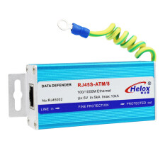 Thiết Bị Chống Sét Tín Hiệu Mạng Gigabit Lixin Không Đổi Bộ Bảo Vệ Tăng Áp Mạng Gigabit Thiết Bị Chống Sét, RJ45S – ATM 8