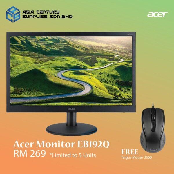 Acer EB192Q 18.5 LED Monitor with VGA D-Sub HD 1366 x 768 Resolution Malaysia