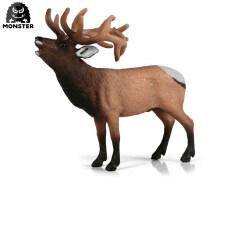 Mô hình động vật hoang dã quái vật mô phỏng nai sừng tấm Tuần Lộc nai sừng tấm nhân vật hành động Bộ sưu tập đồ chơi PVC quà tặng cho trẻ mẫu giáo 3 + trẻ em