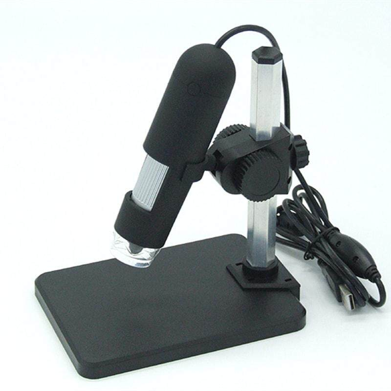 Digital Electronic Microscope 800 x Usb Microscope Portable Industrial Textiles Testing