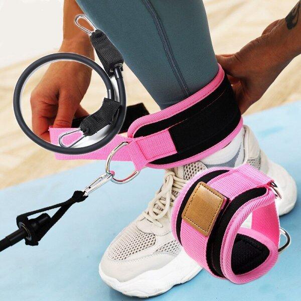 Bảng giá Bộ dây thun tập thể dục hông Bộ phụ kiện dây kéo Đai căng tập luyện hông chân đai đeo mắt cá chân Bộ dây đàn hồi