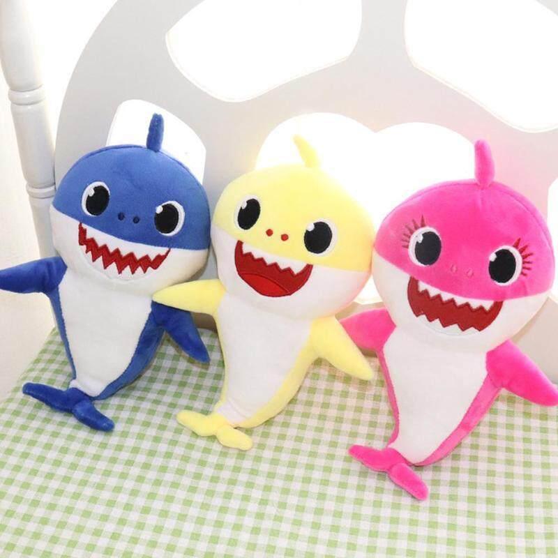 Baby Shark Rubber//Plush Singing Plush Toys Music Doll English Song Toy Kids-Gift