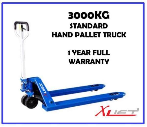Heavy Duty 3 Tons Hand Pallet Truck Pallet Jack WIDE FORK ( 685MM x 1220MM ) SUITABLE 4 FT X 3 FT PALLET SIZE