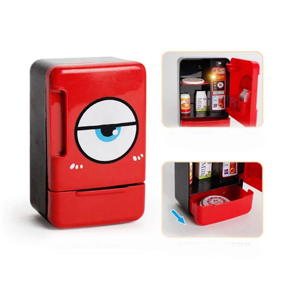 Penjual Terbaik Fde514 Kulkas Peralatan Kecil Dapur Rumah Tangga Mainan Microwave By Beau-Store512.