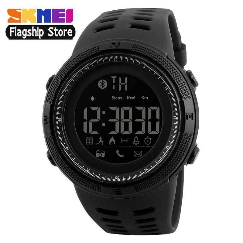 SKMEI Men Smart Watch Sports Digital Watches Bluetooth Calorie Pedometer Multifunction Waterproof Wristwatches 1250 Malaysia