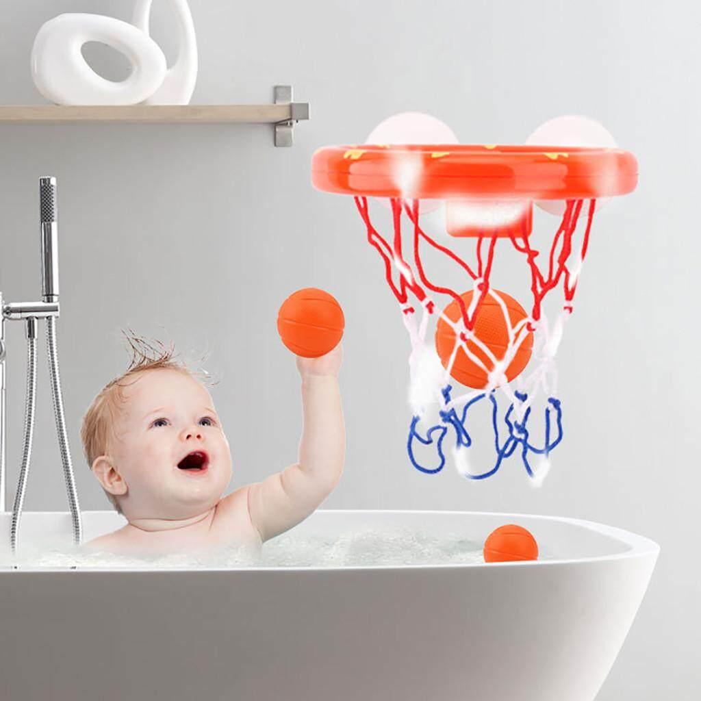 Bpfair fun basketball hoop balls playset for boys girls bathtub shooting game free shipping