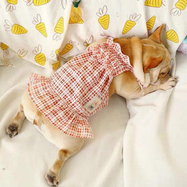 Foxloom 2020 Thời Trang Mới An Toàn Đồ Họa Tiết Cún Cưng Mới Dễ Thương Mùa Xuân Và Mùa Hè Fluffy Màu Đỏ Định Dạng Váy Dây Gợi Cảm Miễn Phí Vận Chuyển COD
