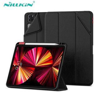 NILLKIN, Ốp Cho iPad Pro 11 2020 2021 Cho iPad 8th 2020 Cho iPad Air 4 Ốp Lưng Ốp Lưng Thông Minh Từ Tính Với Hộp Đựng Bút Chì thumbnail