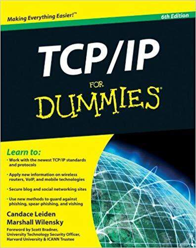 TCP / IP For Dummies by Candace Leiden, Marshall Wilensky Digital Book