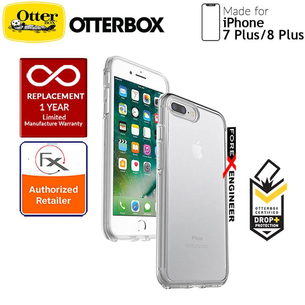 size 40 0a451 43aaf OtterBox Symmetry Clear Series for iPhone 8 Plus / 7 Plus - Black Crystal