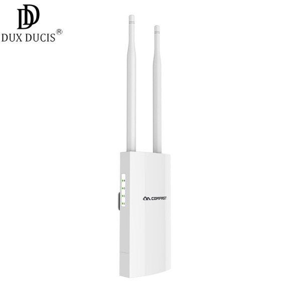 Giá CF-EW71 COMFAST Bộ Định Tuyến Wi-Fi Không Dây Ngoài Trời Thời Tiết 27dbm/Bộ Kích Tín Hiệu AP 2.4G Trạm Cơ Sở Wifi Ăng Ten Ngoài Trời