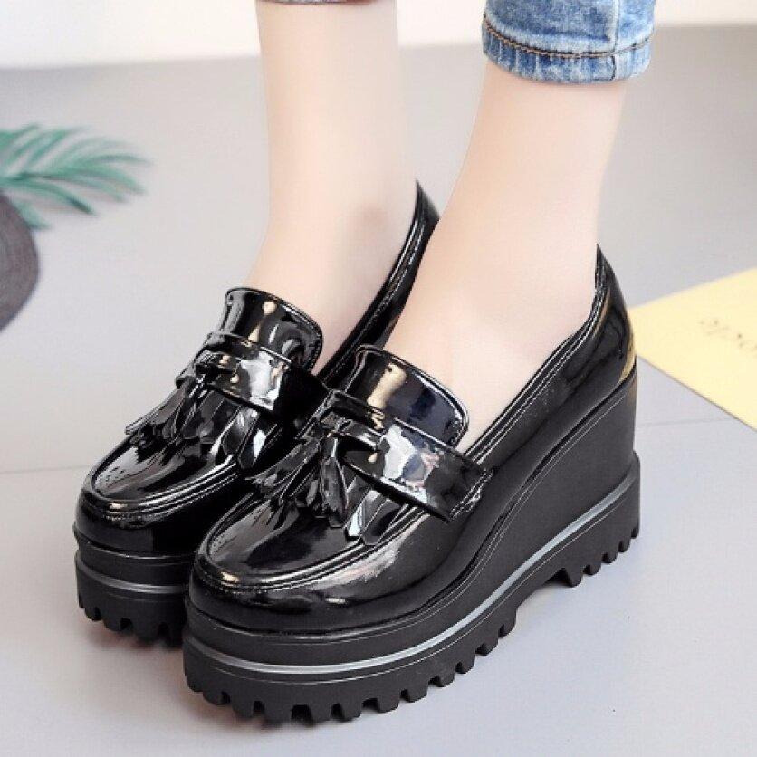 Vintage Mary Janes Giày Nữ Nữ Giày Giày Đi Học Giày Búp Bê Cho Phụ Nữ Giày Ba-lê Đế Bằng Cho Phụ Nữ Trên Doanh Số Bán Hàng 110909 giá rẻ
