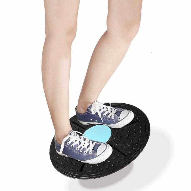 Board Mạch Cân Bằng Thiết Bị Tập Thể Dục ABS Xoắn Ban Hỗ Trợ Xoay 360 Độ Massage Cân Bằng Ban