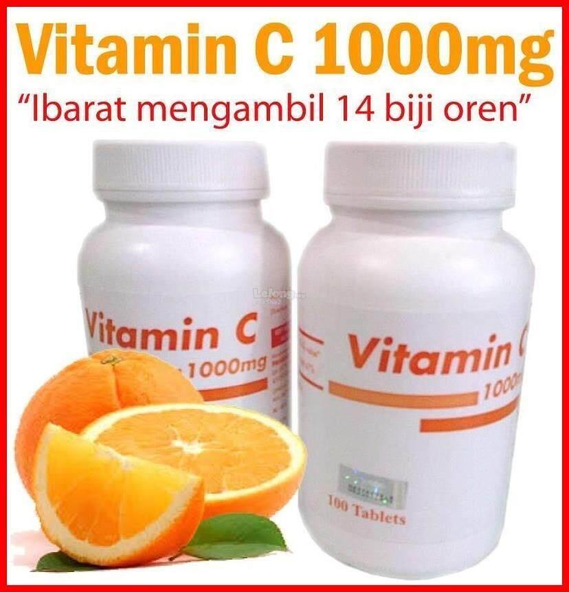 Pp Vitamin C 1000mg Pahang Pharmacy 100s X 1 (exp: May 2020) By Smart Care Pharmacy.