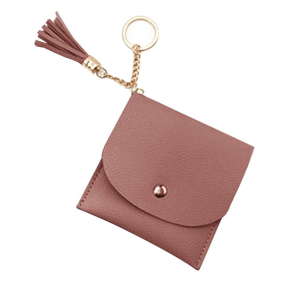 นุ่มหนัง Pu ผู้หญิงเหรียญกระเป๋าถือกระเป๋ากระเป๋าสตางค์เปลี่ยนมือ Mini กระเป๋าสตางค์ขนาดเล็ก By Goddyliho688.