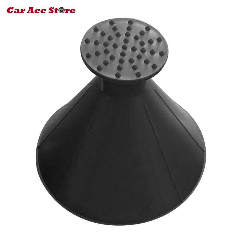Car Acc Store 2 In 1 Tool Oil Funnel Round Ice Scraper Car Windshield Scraper Snow Remover Brush By Car Acc Store.