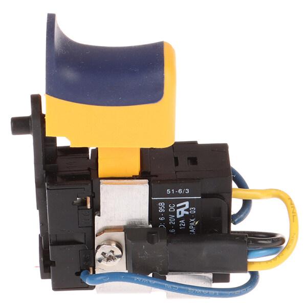 Máy Khoan Cầm Tay Sạc Lithium 12V Thời Trang Công Tắc Tốc Độ Động Cơ DC Chải