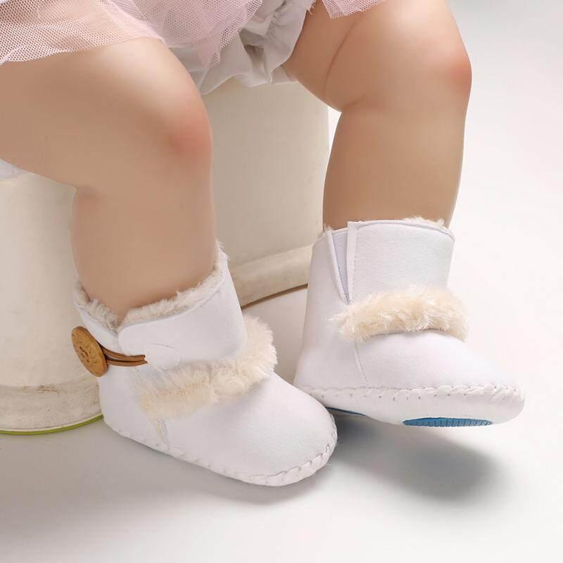 01f4606b1e7e2 Crazy Store Hot Newborn-18M Baby Boy's Girl's Warm Winter Boots Slip-On  Toddler