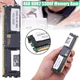 BOKALI 1 Chiếc Ram Bộ Nhớ CL5 Pin 4GB DDR2 5300F 667Mhz 1.8V ECC 240 Cho Máy Tính Để Bàn, Mới thumbnail
