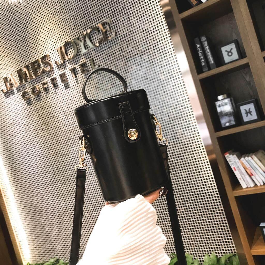 Fashion Moon Women Retro Pure Color Feather Bucket Bag Crossbody Bag Messenger Shoulder Bags for women free shipping