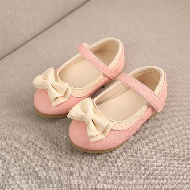 Giày Công Chúa Thắt Nơ Cho Trẻ Em, Ngọt Ngào Dễ Thương Bé Gái, Giày Đi Hàng Ngày, Tham Khảo Bảng Kích Cỡ EU giá rẻ
