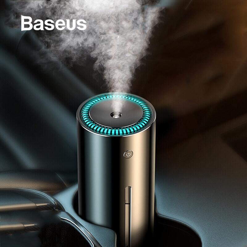 Baseus 300 Ml Tạo Độ Ẩm Cho Xe Văn Phòng Nhà Cửa USB Siêu Âm Máy Khuếch Tán Tinh Dầu Bình Khuếch Tán Hương Liệu Máy Lọc Không Khí