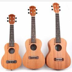INSOUND Đàn Ukulele Nhỏ Đàn Guitar Hawaii 21/23/26 Inch Nhạc Cụ 4 Dây