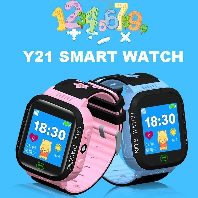Giá bán TopRating Y21 Đồng Hồ Thông Minh Trẻ Em Chống Thấm Nước Đồng Hồ Đeo Tay Trackerr Chống mất GPS SIM Gọi SOS Trẻ Em Bé Trai Bé Gái