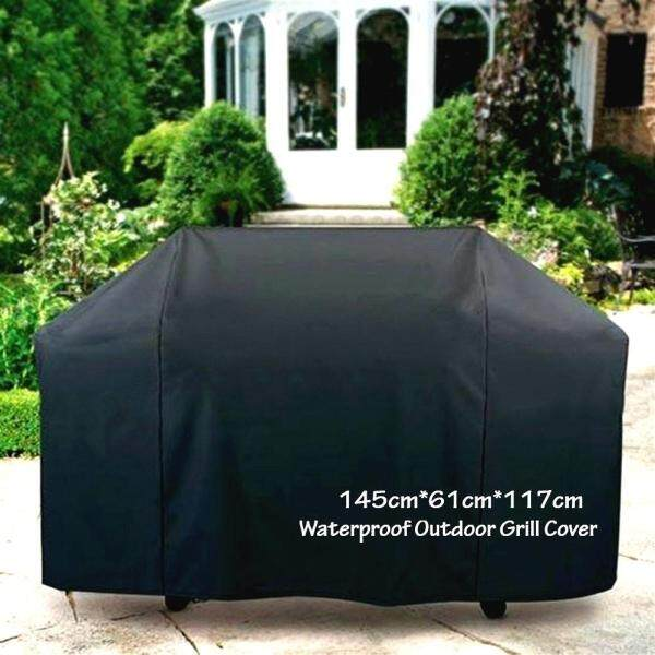 Patio Dustproof Cover Outdoor Grill Cover Waterproof Garden BBQ Grill Protector UV Protection