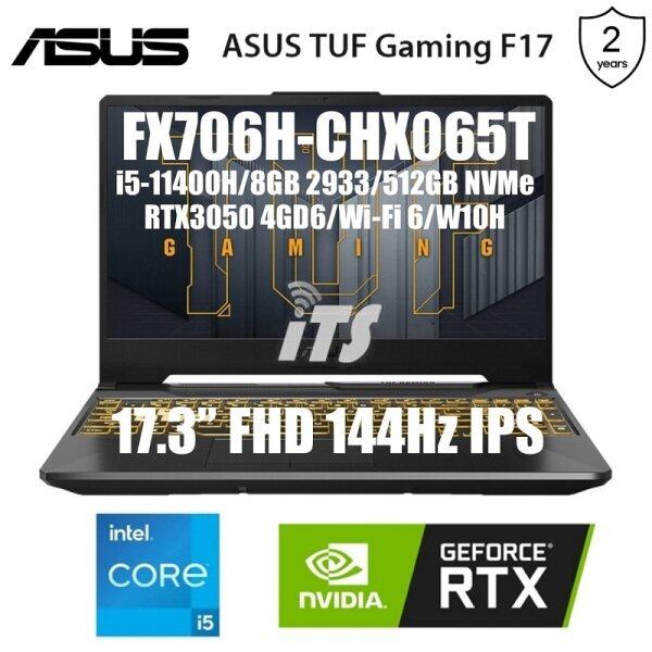 ASUS 2021 TUF Gaming F17 FX706H-CHX065T Gaming Laptop (I5-11400H/8GB/512GB SSD/RTX3050 4GB GDDR6/17.3 144Hz IPS) Malaysia