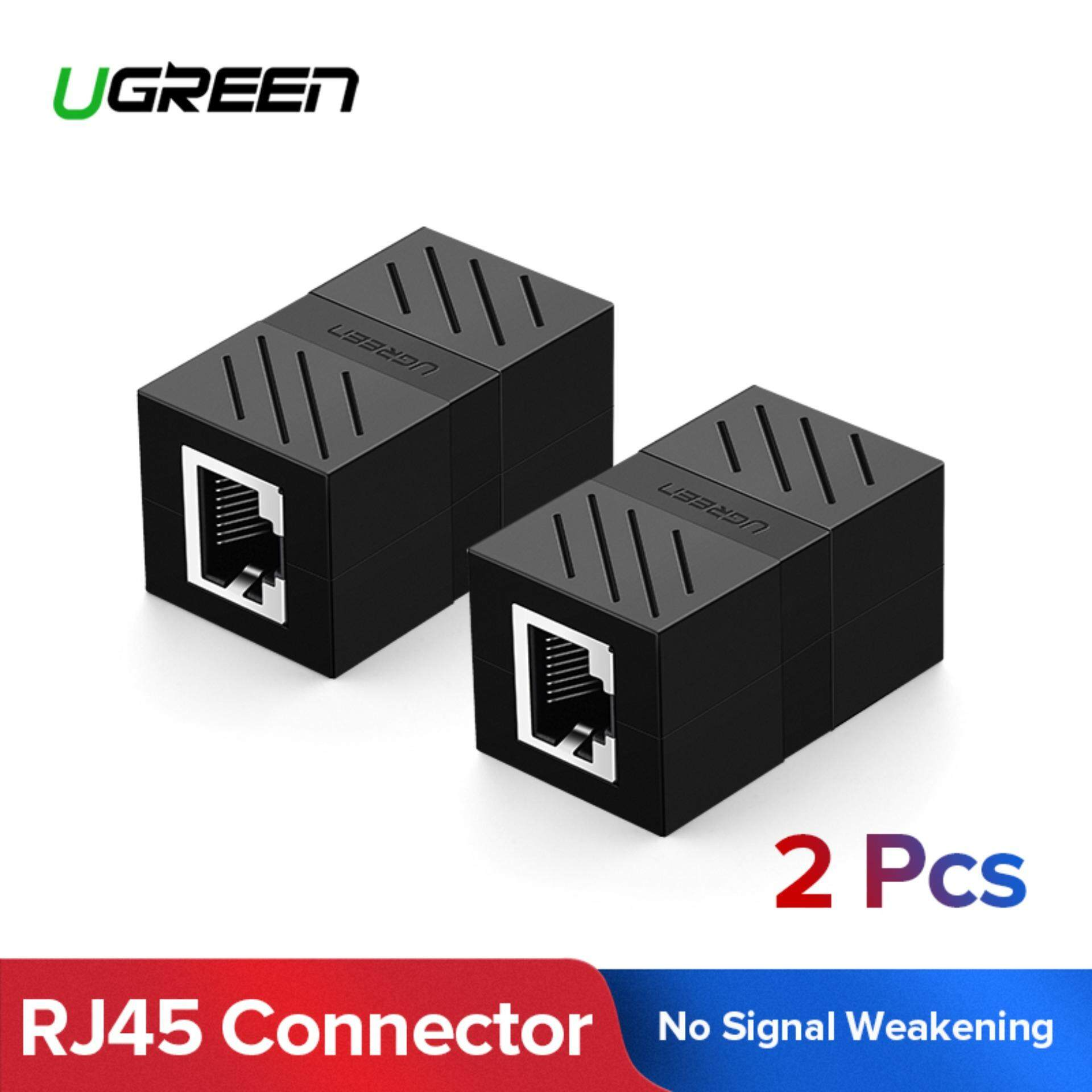 Ugreen 2pack In-Line Coupler Cat7/cat6/cat5e Ethernet Cable Extender Adapter -Black By Ugreen Flagship Store.