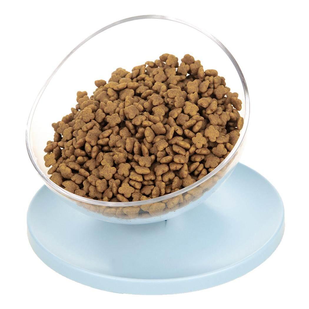 Chén Ăn cho thú cưng Chống trượt Nghiêng Phong Cách Cho Thú Cưng Ăn Bát Thức Ăn Cho Thú Cưng Bát Ăn cho Chó Mèo, Xanh Dương - 3