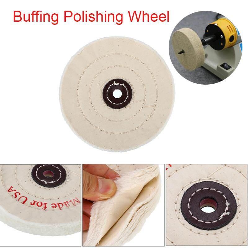6 inch Cloth Buffing Polishing Wheel Buffer Polish Jewelry Grinder Pad Craft For Wood Metal Jewelry Polishing Tools