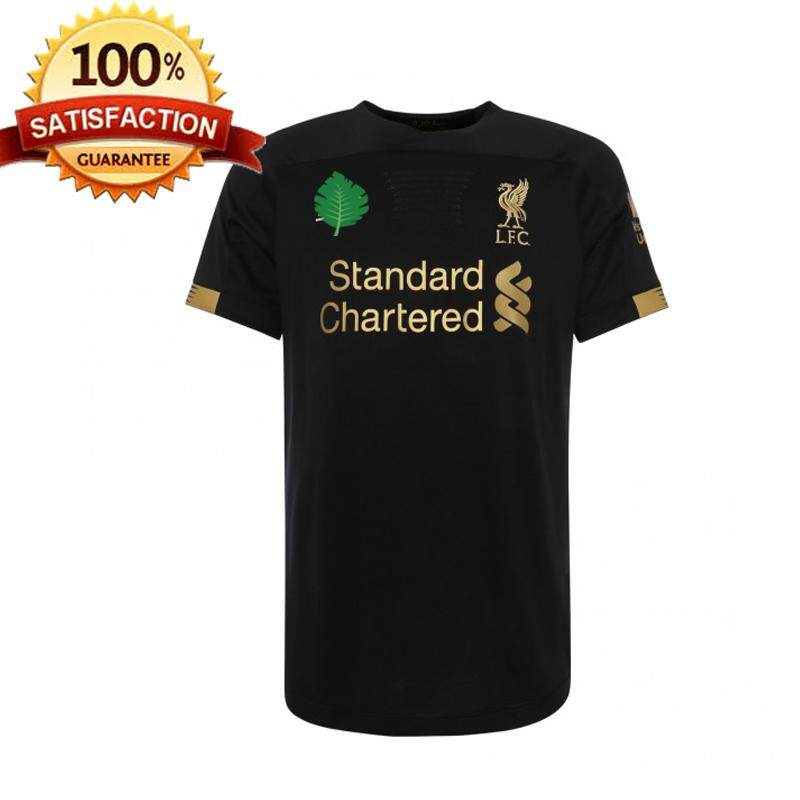 1920 Lfc Goalkeeper Black Jersey Men 1 By Beiguangyuan.