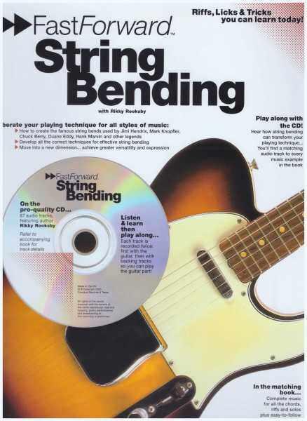 Fast Forward String Bending / Guitar Book / Gitar Book / Guitar Tab Book / Gitar Tab Book Malaysia