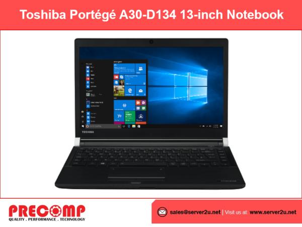 Toshiba Portégé A30-D134 13-inch Notebook (i5-7200U.8GB.256GB) (PT383L-0DR00D) Malaysia