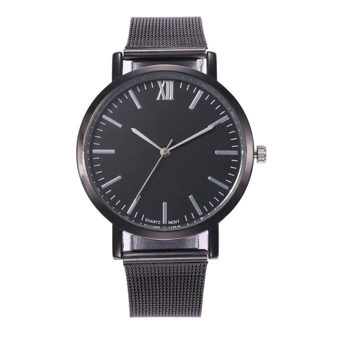 Hot Sellers SC050 Simple Women Three-needle Quartz Watch Wire Mesh Belt Watch Rose Gold Malaysia