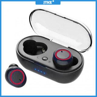 Tai Nghe Không Dây JTKE TWS 5.0 Bluetooth Tai Nghe Thể Thao Earbuds Stereo Tai Nghe Tai Nghe Auriculares Dành Cho iPhone Xiaomi Có Mic thumbnail