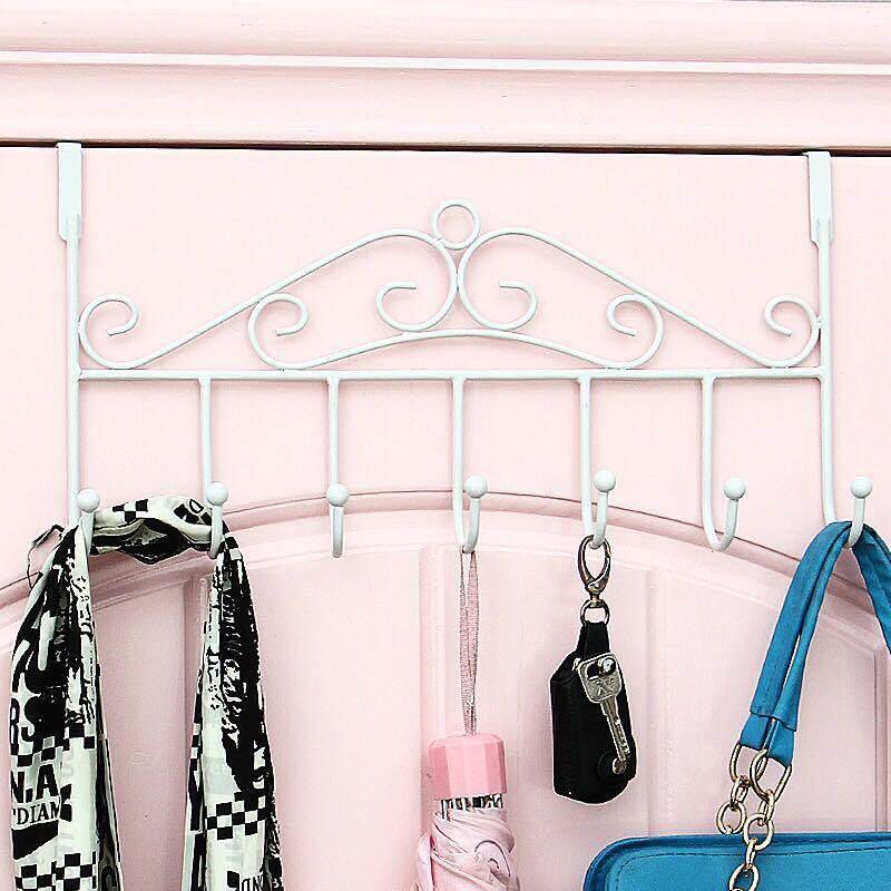 Strong seamless hook-free nail-free rear door load-bearing adhesive bedroom creative paste wall hook