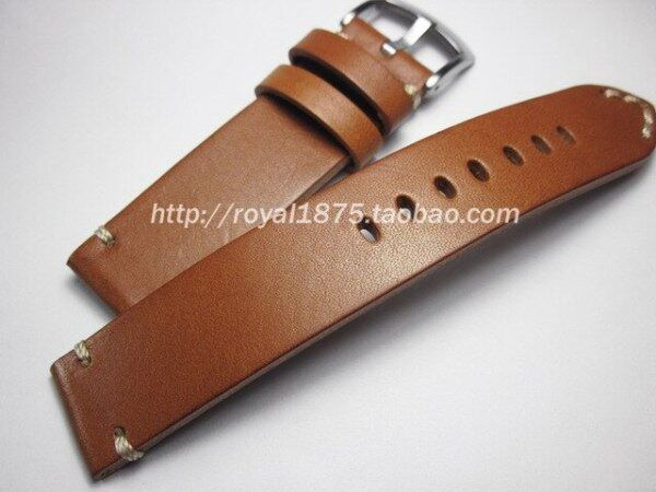 Man Watch Accessories Cow Leather Strap Watch Bracelet Brown Vintage Watch band 18mm 19mm 20mm 21mm 22mm Watchband Watch Strap Malaysia