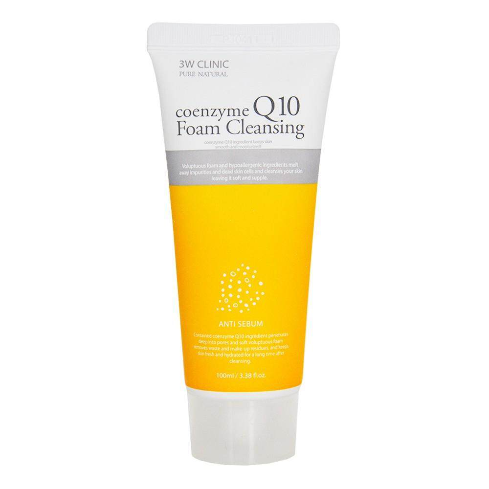 3W Clinic Coenzyme Q10 Foam Cleansing from Korea