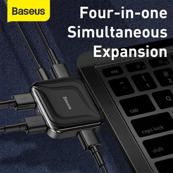 Bảng giá Baseus USB2.0 4 Cổng Trung Tâm Chân Cắm Gập Hub Đa Chức Năng Adapter Phụ Kiện Máy Tính Bộ Chia USB Đối Với MacBook Ốp Pro PC Máy Tính Xách Tay Phong Vũ