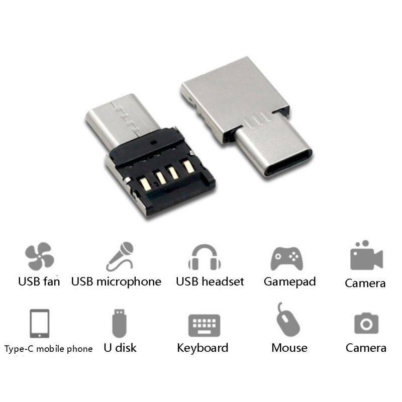 Giá Nhôm Cơ Thể USB Type C Sang USB 3.0 OTG Chức Năng USB Loại C Bộ Chuyển Đổi