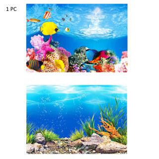 Áp Phích Nền Bể Cá, Miếng Dán Phông Nền Bể Cá Tự Dính Đại Dương Giấy Nền Bể Cá Trang Trí Tranh Dán Tường Bể Cá 3D Hình Ảnh Hd Tranh Nền Trang Trí Bể Cá Hai Mặt Nhãn Dán Bể Cá thumbnail