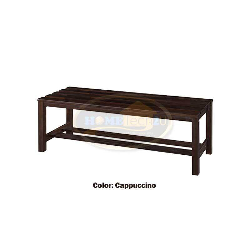 Spring Bench Solid Wood Lining Long Bench Long Chiar